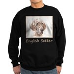 English Setter (Orange Belton) Sweatshirt (dark)
