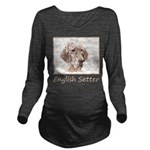 English Setter (Oran Long Sleeve Maternity T-Shirt
