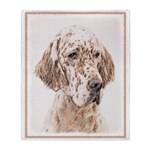 English Setter (Orange Belton) Throw Blanket