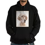 English Setter (Orange Belton) Hoodie (dark)