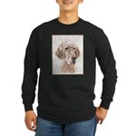 English Setter (Orange Be Long Sleeve Dark T-Shirt