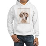English Setter (Orange Belton) Hooded Sweatshirt