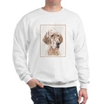 English Setter (Orange Belton) Sweatshirt