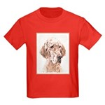 English Setter (Orange Belton) Kids Dark T-Shirt