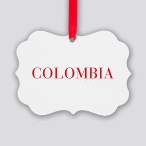 Colombia-Bau red 400 Ornament