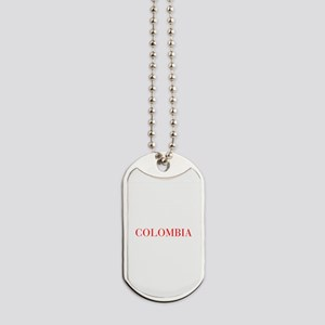 Colombia-Bau red 400 Dog Tags