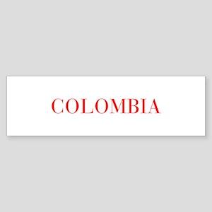 Colombia-Bau red 400 Bumper Sticker