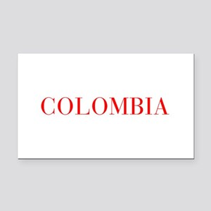 Colombia-Bau red 400 Rectangle Car Magnet