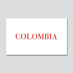 Colombia-Bau red 400 Car Magnet 20 x 12