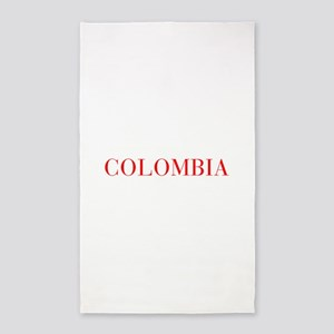 Colombia-Bau red 400 Area Rug