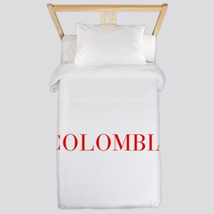 Colombia-Bau red 400 Twin Duvet