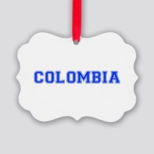 Colombia-Var blue 400 Ornament