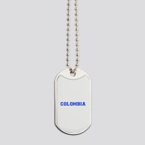 Colombia-Var blue 400 Dog Tags