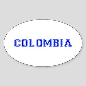 Colombia-Var blue 400 Sticker