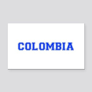 Colombia-Var blue 400 Rectangle Car Magnet