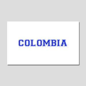 Colombia-Var blue 400 Car Magnet 20 x 12