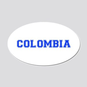 Colombia-Var blue 400 Wall Decal