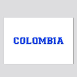 Colombia-Var blue 400 Postcards (Package of 8)