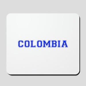 Colombia-Var blue 400 Mousepad