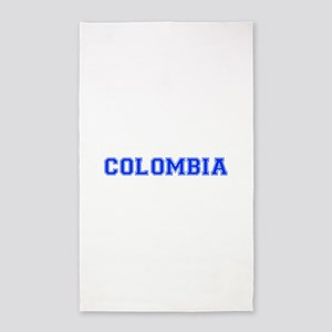 Colombia-Var blue 400 Area Rug