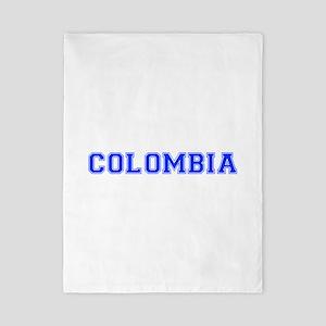 Colombia-Var blue 400 Twin Duvet