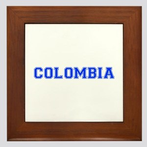 Colombia-Var blue 400 Framed Tile