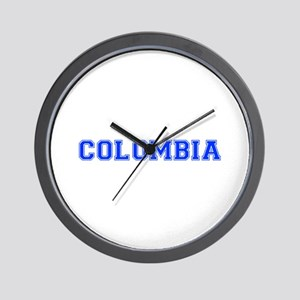 Colombia-Var blue 400 Wall Clock