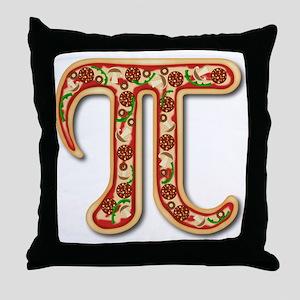 Pizza Pi Throw Pillow