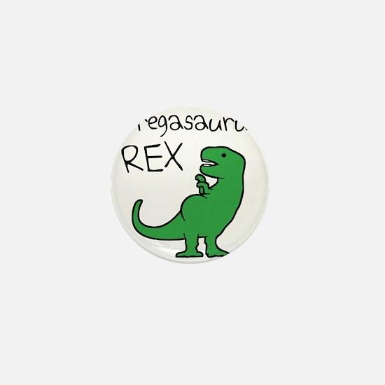 Pregasaurus Rex Mini Button
