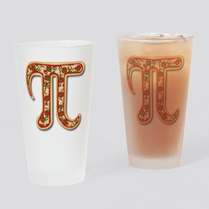 Pizza Pi Drinking Glass