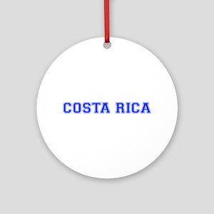 Costa Rica-Var blue 400 Ornament (Round)