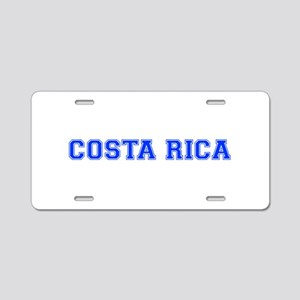 Costa Rica-Var blue 400 Aluminum License Plate