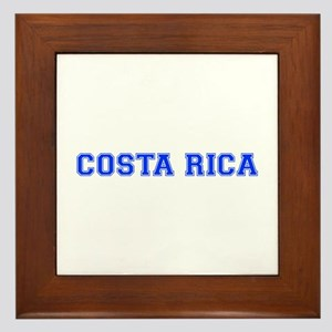 Costa Rica-Var blue 400 Framed Tile