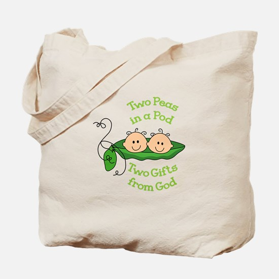 TWO GIFTS FROM GOD Tote Bag