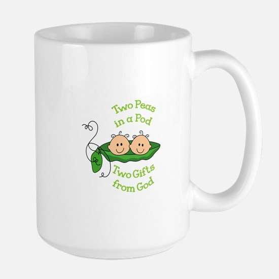 TWO GIFTS FROM GOD Mugs