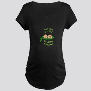 TWO GIFTS FROM GOD Maternity T-Shirt