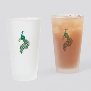 REGAL PEACOCK Drinking Glass