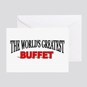 """""""The World's Greatest Buffet"""" Greeting Card"""