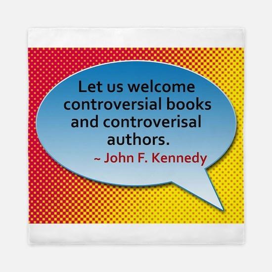 Controversial Books Queen Duvet