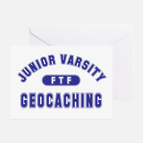 """Junior Varsity Geocaching"" Greeting Card"