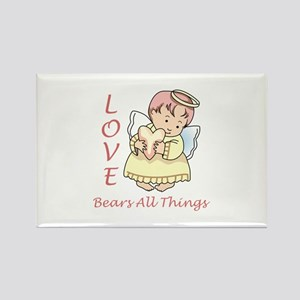 Love Bears All Things Magnets