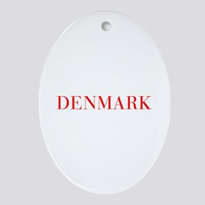 Denmark-Bau red 400 Ornament (Oval)