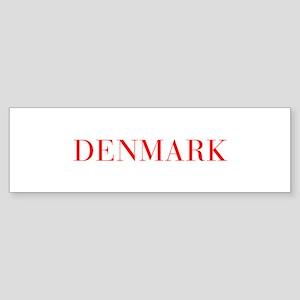 Denmark-Bau red 400 Bumper Sticker