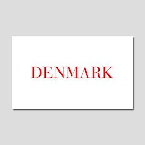 Denmark-Bau red 400 Car Magnet 20 x 12