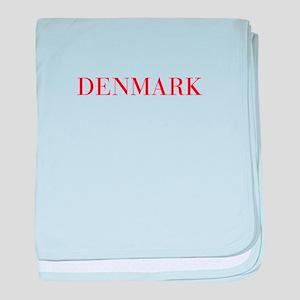 Denmark-Bau red 400 baby blanket