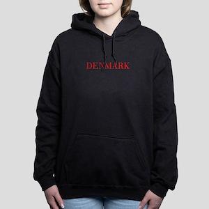 Denmark-Bau red 400 Women's Hooded Sweatshirt