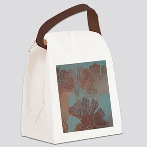 Gingko Leaves Canvas Lunch Bag