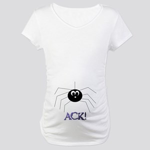 SPOOKY SPIDER Maternity T-Shirt