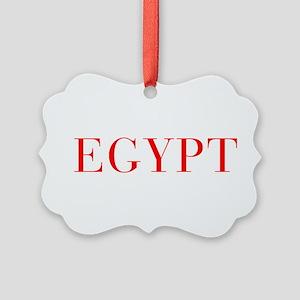 Egypt-Bau red 400 Ornament