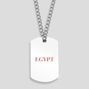 Egypt-Bau red 400 Dog Tags